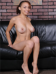 Ebony fully naked boobs for support
