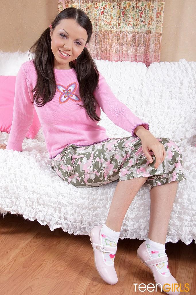 1- Nice Brunette Teen