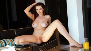 Maible Brunette Busty Nude-Thumb